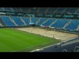 Выкатное поле Санкт-Петербург Арены покинуло чашу стадиона