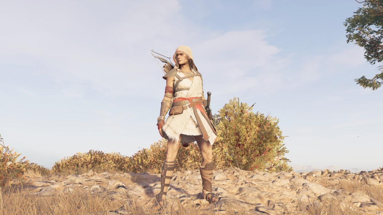 Набор легендарной брони Паломника в Assassin's Creed Odyssey