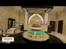 Салаху на день рождения в Чечне подарили 100 килограммовый торт