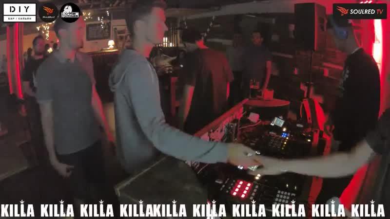 Mr.Kingston live KILLA Radio @ DIY BAR (Minsk) [09. 08.2017]