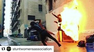 "Hannah Betts on Instagram: ""#Repost @stuntwomensassociation with @get_repost ・・・ #stuntwomensassociation @hannahbetts1 may have temporarily shorten..."