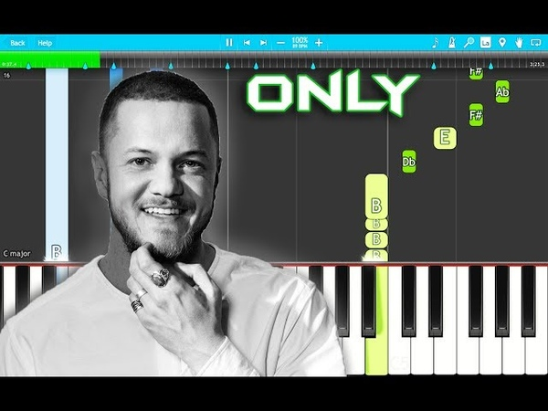 Imagine Dragons - Only Piano Tutorial EASY (Origins) Piano Cover