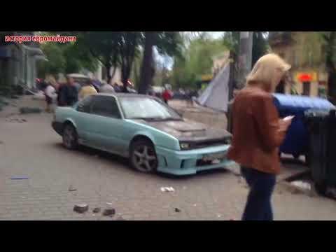 2 мая 2014 Одесса Столкновение антимайдана и евромайдана Александр Иванов