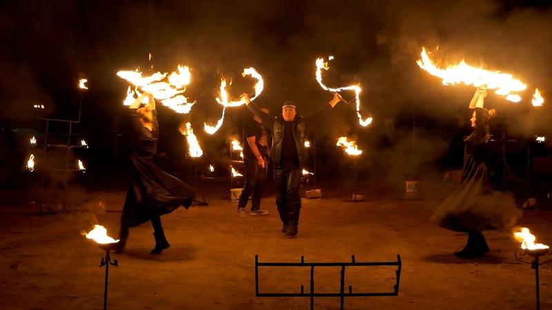 Невероятное огненное шоу арт студии Феникс   www.kdv888.ru