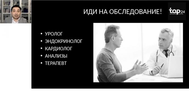 Ирек Хафизов. Презентация Wellness и мужское здоровье