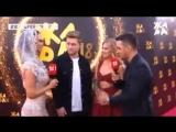 Рита Дакота и Влад Соколовский на дорожке фестиваля ЖАРА-2018