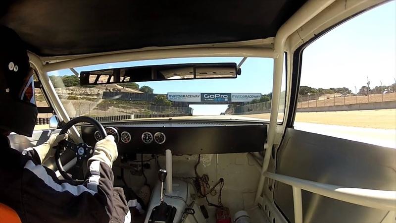 Datsun 240z IMSA at Laguna Seca