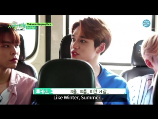 Seoul trip with the [Hot & Young] NCT 3 эпизод