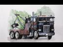 Freightliner FLA 9664 1987 Truck from Terminator 2