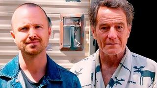 Аарон Пол обнаружил Брайана Крэнстона в фургоне из «Во все тяжкие»