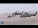 Учения боевых вертолетов НОАК