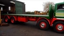 Foden S21 Two stroke. Yard test. Contains industrial language !