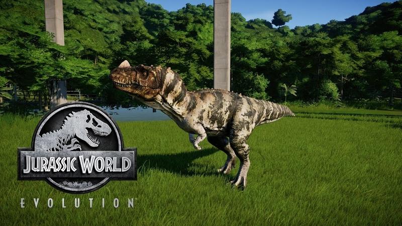 Jurassic World Evolution - Меняем окрас и увеличиваем популяцию динозавров! 14
