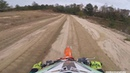 Nate Augustine WFO laps on a fresh sand track at ClubMx