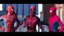 Человек-Паук: Возвращение домой VS НОВЫЙ ЧЕЛОВЕК ПАУК ft Deadpool (Пародия)