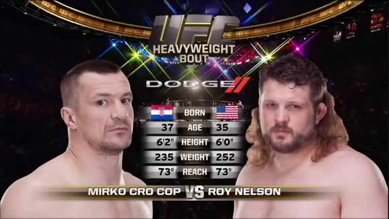 Мирко Крокоп vs Рой Нельсон 1 Bellator