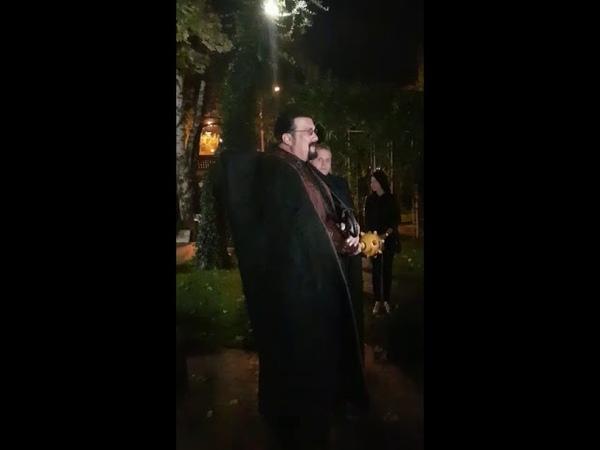 Стивена Сигала посвятили в казаки