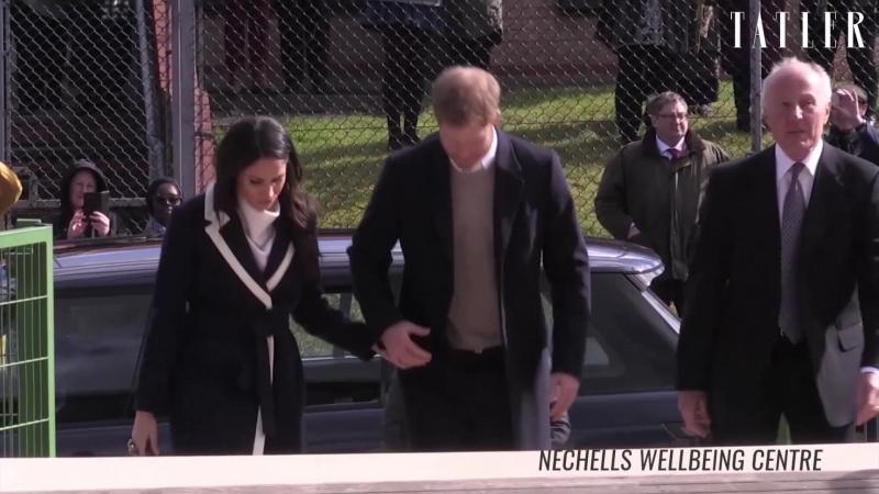 Принц Гарри и Меган Маркл лучшие выходы пары