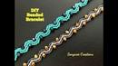 Beaded Wavy Beaded to make beaded bracelet