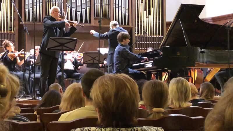 В.Свердлов-Ашкенази. Andante памяти Дмитрия Когана для скрипки,фортепиано и оркестра
