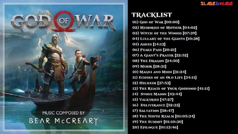 God of War (2018) - Full Original Soundtrack Tracklist [OST]