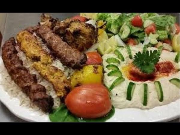 Suriyedeki tavuk kebap restoranı ve köfte çok lezzetli