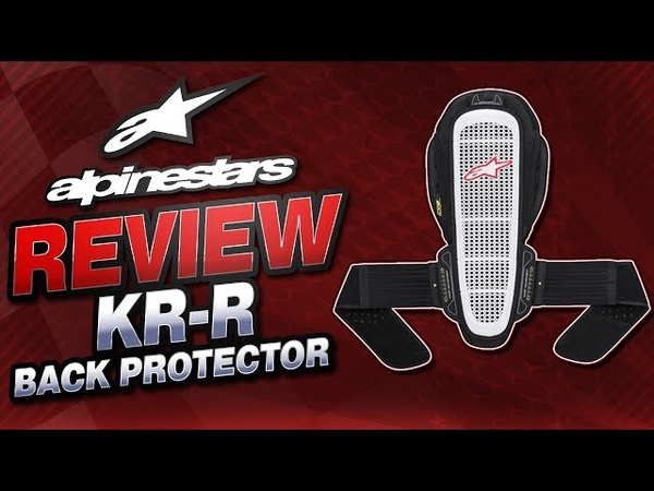 Alpinestars Nucleon KR-R Back Protector Review from Sportbiketrackgear.com