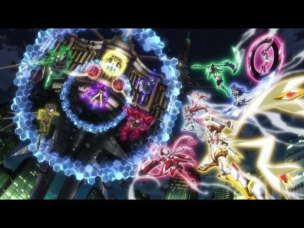 ►Nightcore ★ Radiant Force (PV ver.) - Chris, Tsubasa, Hibiki ( Symphogear GX)