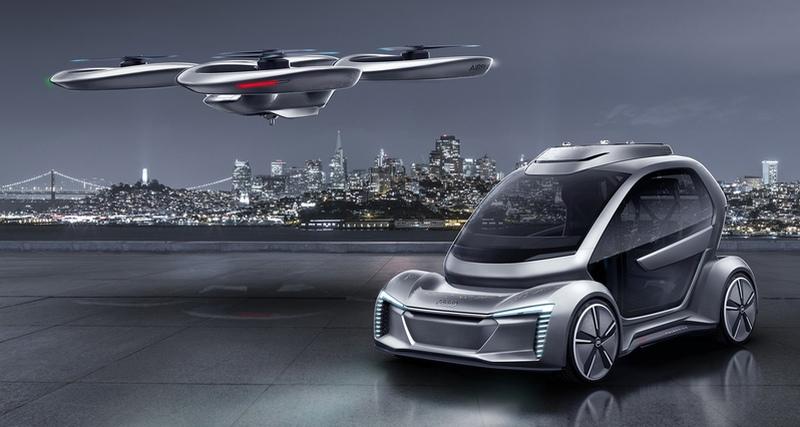 В Германии проведут испытания летающего такси.