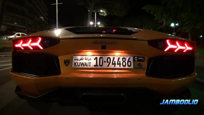 Lamborghini Aventador Range Rover - Epic Orange Duo