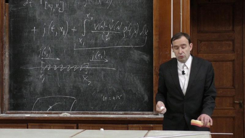 Силаев П. К. - Квантовая теория - Нестационарное уравнение Шредингера (Лекция 10)
