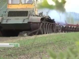 Кулибин. Из танка - самоделка
