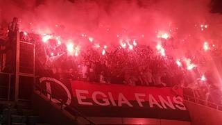 E: Śląsk Wrocław - Legia Warszawa [Legia Fans]. 2018-10-06