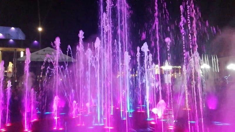 Музыкальный фонтан во Владимире Вальс из к ф Мой ласковый и нежный зверь