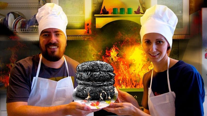 СУМАСШЕДШИЕ ПОВАРА сожгли кухню СИМУЛЯТОР ПОВАРА веселая игра для детей ИГРОВОЙ МУЛЬТИК OVERCOOKED