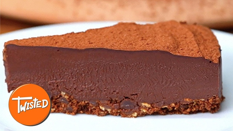 Chocolate Chunk Truffle Cake Recipe | Easy Desserts To Make | Sweet Treats | Twisted