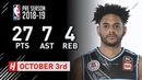 Corey Webster Full Highlights Breakers vs Suns - 2018.10.03 - 27 Pts, 7 Ast, 4 Reb!