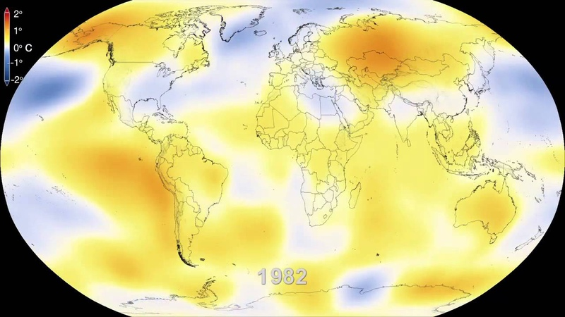 NASA | Six Decades of a Warming Earth