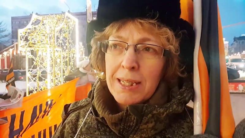 15.12.2018г. Массовый пикет НОД рядом с Пушкинской площадью