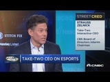 Take-Two CEO Strauss Zelnick talks esports and the future of the gaming industry