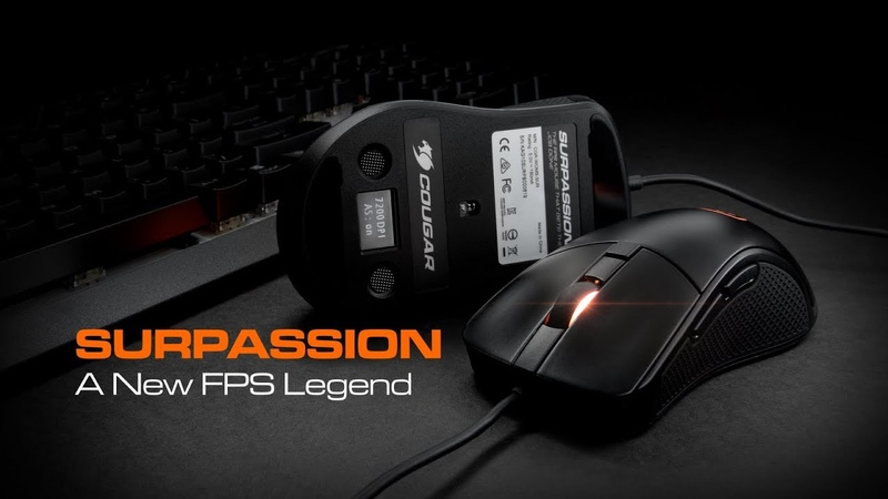 COUGAR Surpassion Gaming Mouse with LCD Screen