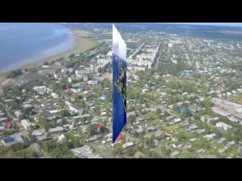 Красивое видео Онега-город у Белого моря