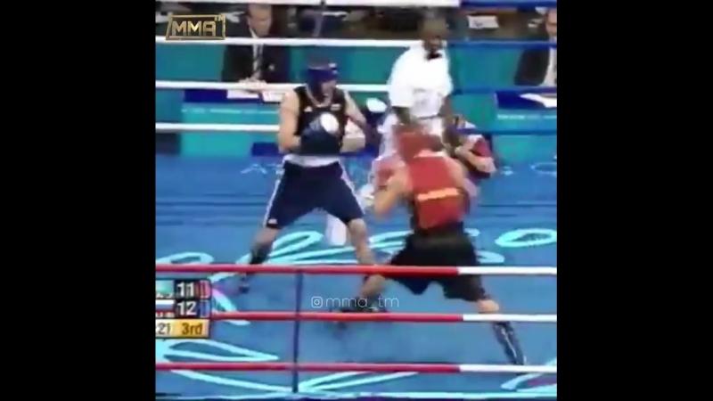 Геннадий Головкин-Гайдарбек Гайдарбеков 🇷🇺 🏅Олимпийские игры 2004 Афины.финал 75 кг 🥊