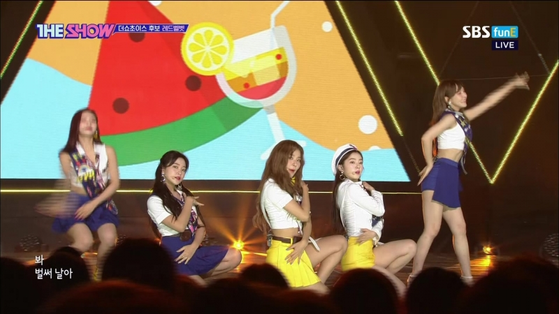 [Comeback Stage] 180821 Red Velvet (레드벨벳) - Power Up