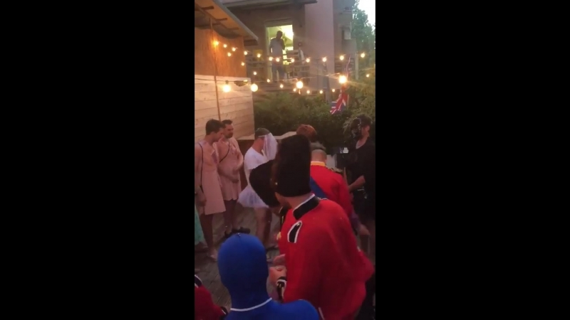 Rugby team dress up as The Royal Wedding