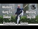 Complete Wudang Dadao/Pudao and Taiji 28 Forms | VLOG 61 | Return to Wudang