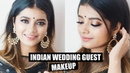 Gold Indian Wedding Guest Makeup with One Special TRICK