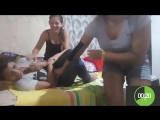 DESAFIO DAS CÓCEGAS 3 Part. Tamara Alves /  Thais Alves