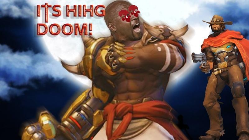 Doomfist...Dont jump on Mccree [Overwatch] Competative