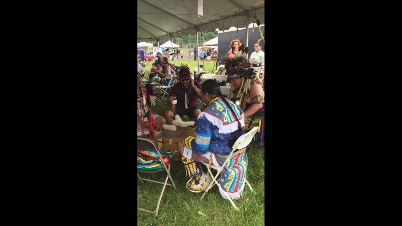 Iroquois Drum - Redhawk Native Arts Raritan Pow Wow 2018
